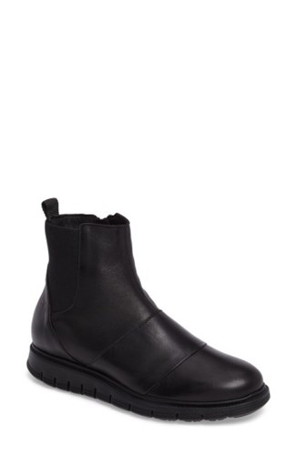 Cloud Women's Gish Water Resistant Bootie Black Leather OHKvBgH