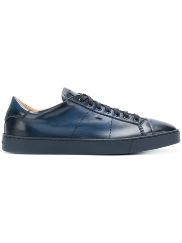 Santoni Lace Up Sneakers Blue edp46kuGkr
