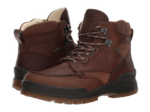 Ecco Track 25 Premium High Cocoa Brown Camel Men's Lace Up Boots UOowyIKOo