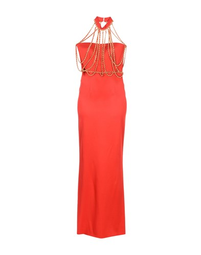 Moschino Long Dresses Red ZdVmgRx
