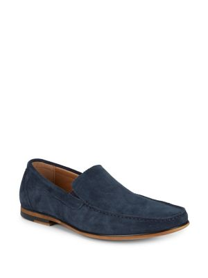 Kenneth Cole Reaction Leather Loafers Navy Rj63AbT