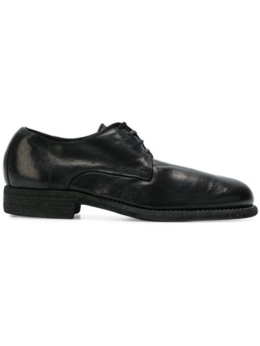 Guidi Asino Derby Shoes Black MHofTLl