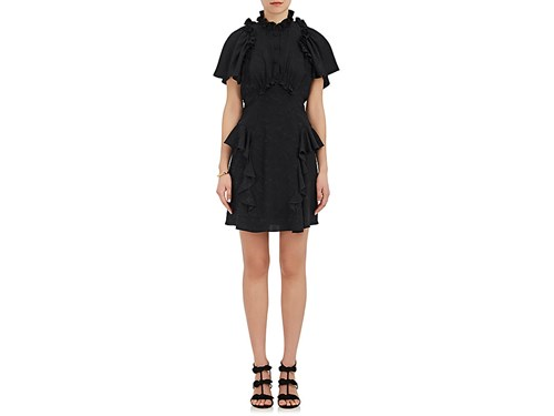 Maison Mayle Women's Guapa Cutout Silk Dress Black pANV55jFpy