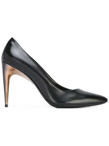 La Perla Court Pumps Women Leather 38 Black BakLjldiL