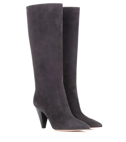 Boots Kelsey Gianvito Suede 85 Rossi Grey RIwwxqH7S