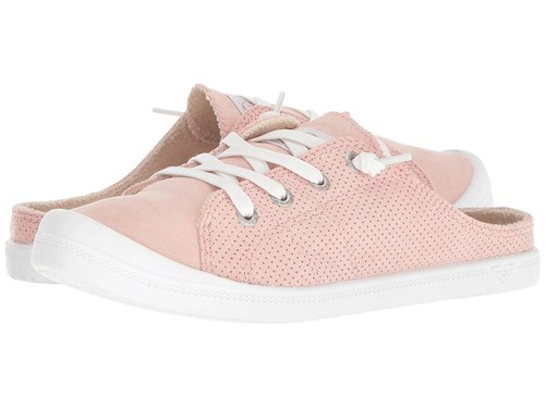 Blush Mule Shoes Pink Roxy Bayshore On Slip OqAW5I