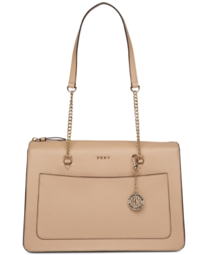 DKNY Bryant Medium Zip Tote Created For Macy's Egg Nog RtUnPF