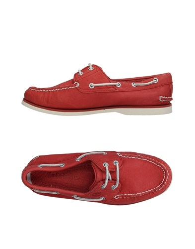 Timberland Loafers Brick Red EkhNLxifv9
