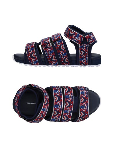 White Mountaineering Sandals Dark Blue FdnD4