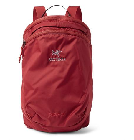 Arc'teryx Index 15 Nylon Ripstop Backpack Claret hrU1aDbDST