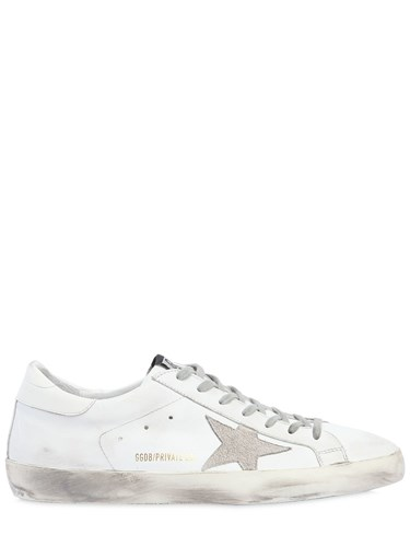 Golden Goose 20Mm Limit.Ed Super Star Leather Sneaker White 3swal