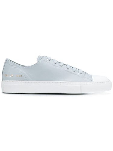 Common Projects Contrast Low Top Sneakers Blue sF2sf