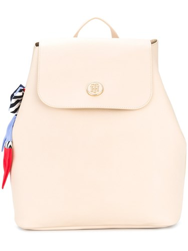 Tommy Hilfiger Embellished Drawstring Backpack Nude And Neutrals 6WjDPktbOy