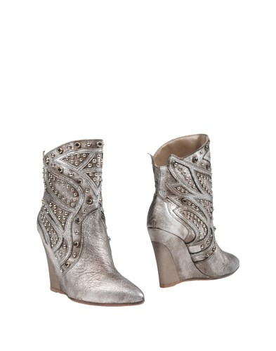 GARRICE Ankle Boots Silver npmSifWeNk