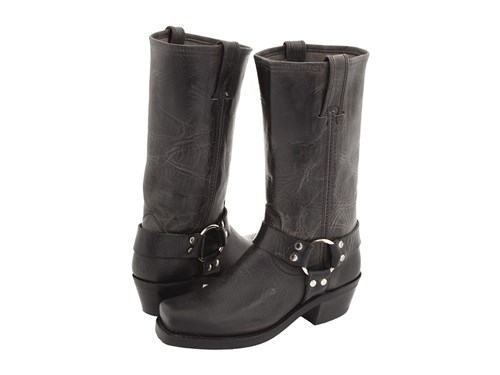 Frye Harness 12R Charcoal Old Town Women's Pull On Boots Bronze emlqjZFMdX
