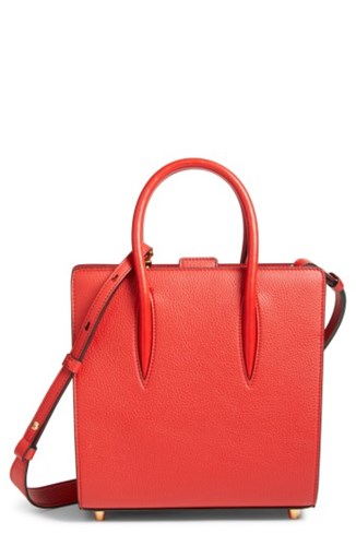 Christian Louboutin Small Paloma Empire Leather Tote Red Red Red In2HybIds9