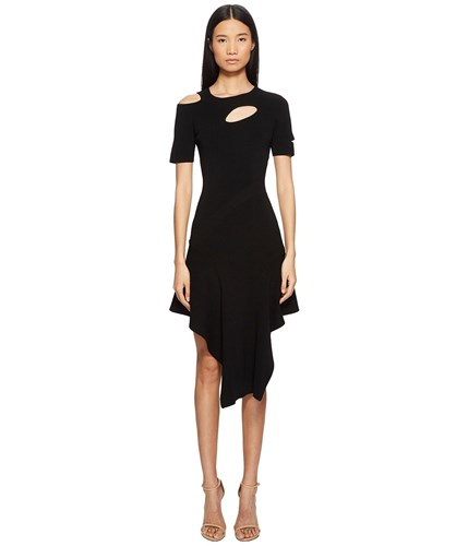 Dress Cut Out Jet Azrouel Asymmetrical Black Yigal wRUFqBIn