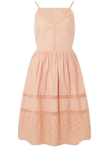 Dorothy Perkins Blush Lace Insert Camisole Dress Pink iPy70p