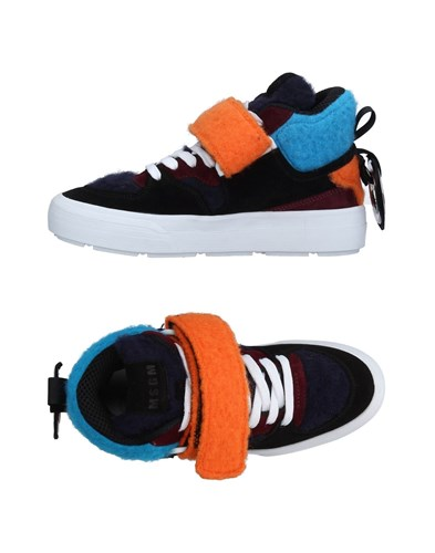 MSGM Sneakers Dark Blue 1HjcbqZp