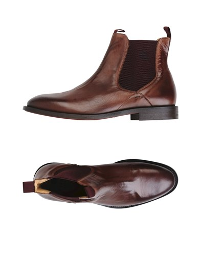 Hudson H By Ankle Boots Dark Brown zE6jrbY