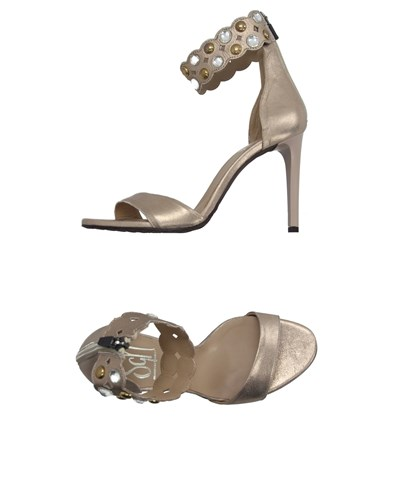 Giancarlo Paoli Sgn Footwear Sandals Women Platinum uaAsX