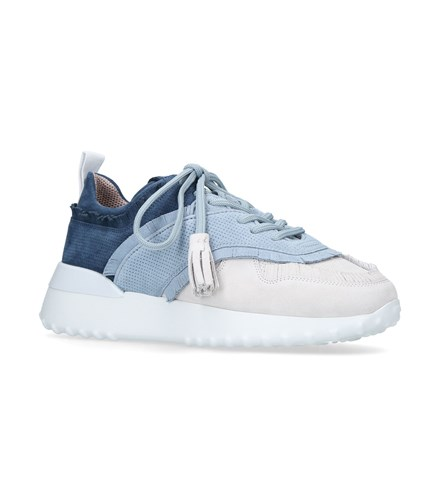 Tod's Leather Sneakers Blue ijYR2n8i21