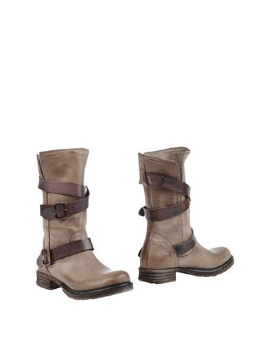 AMUST Ankle Boots Khaki ZdidE9iKV