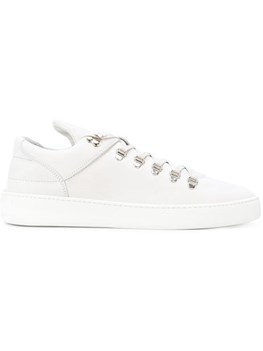 Filling Pieces Mountain Cut Sneakers Calf Leather Leather Rubber White U1wpI5L9