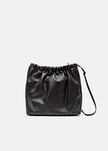 The Row Elastic Wander Bag Black Pld Kdrl9