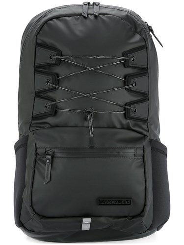 Spider Polyester Black Ludus Makavelic Backpack qX5wgXS
