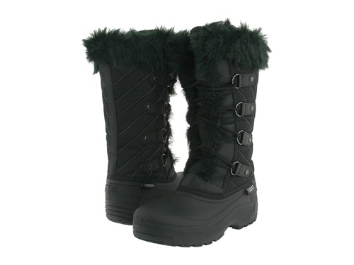 Tundra Boots Diana Black Women's Cold Weather 9GhCfobg