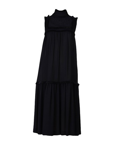Veronique Branquinho 3 4 Length Dresses Black LxXbd7IZ