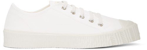 Spalwart White Canvas Special Low Sneakers k4h1AiJi8