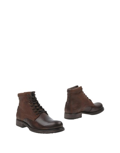 Jack and Jones Ankle Boots Cocoa xygeicP