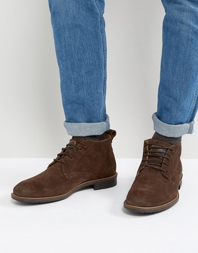 Levi's Levis Huntington Suede Boots In Brown Brown AjPYf5jRp7