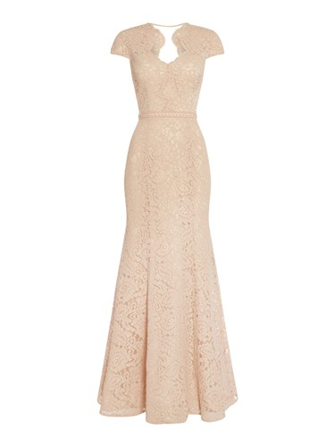 Collections Rose JS Neck Gown Lace With Sweetheart vwqqZAfx