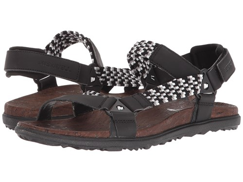 Merrell Around Town Sunvue Woven Black Shoes Zk2pPR