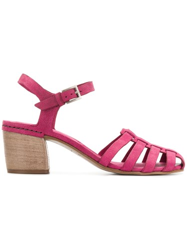 Del Carlo 10321 Sandals Pink And Purple LA2zOGSR