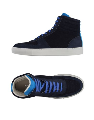 Blue National National Dark Sneakers Standard Standard xwx87X