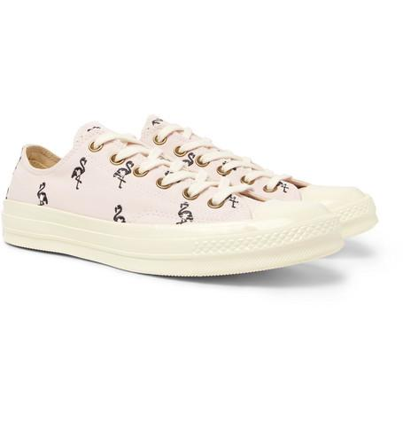 Converse 1970S Chuck Taylor All Star Embroidered Canvas Sneakers Pink DwBJCwFa