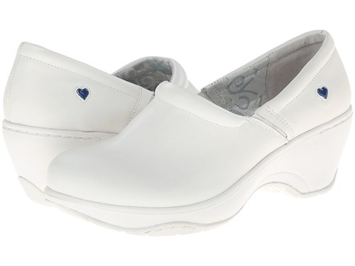 Nurse Mates Bryar White Clog Shoes Je2ZWEcIo