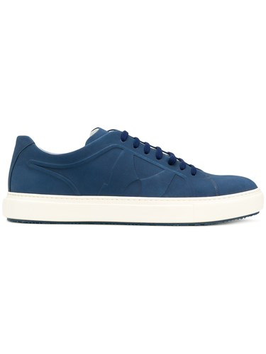 Moreschi Kos Sneakers Leather Rubber Blue Y52x5ZU