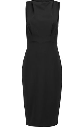 Badgley Mischka Stretch Jersey Dress Black 2sfOvWKtoE