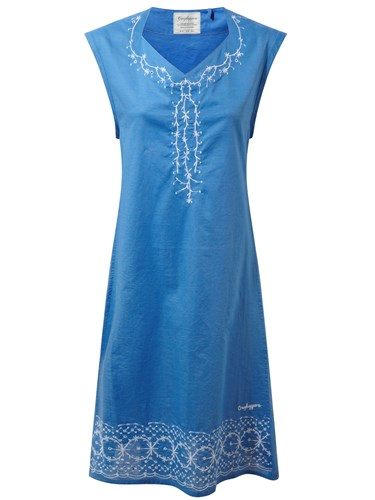 Craghoppers Scarlett Sleeveless Dress Blue bxt3mtfv