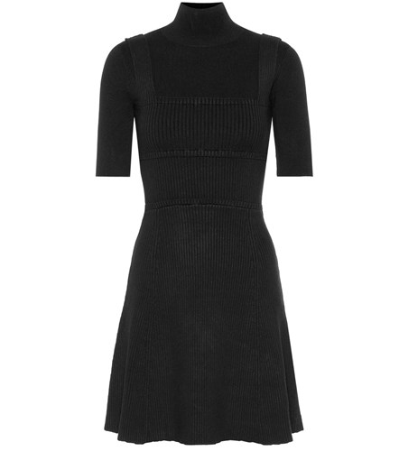 Victoria Beckham Knitted Dress Black Z7PMg6x85