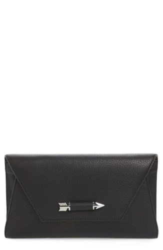 Mackage Flex Leather Envelope Clutch qdEbYa