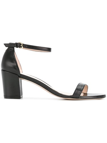 Stuart Weitzman Simple Slingback Sandals Black mxWJg
