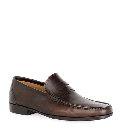 Magnanni Leather Penny Loafer QiexSpaRbw
