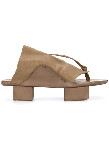 Uma Wang Opanca Sandals Brown T0zDrn