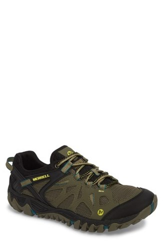 Merrell All Out Blaze Aero Sport Hiking Shoe Dusty Olive 2dlaK